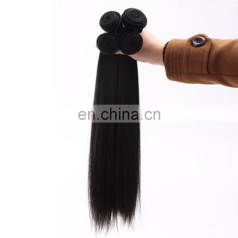 100% Unprocessed indian straight hair 16 inches straight indian remy hair extensions