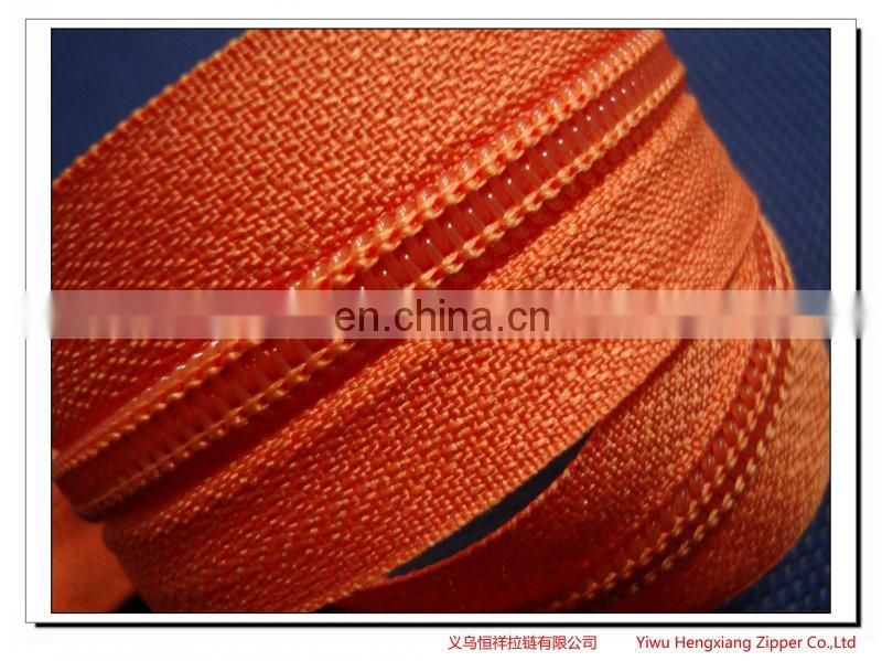 nylon zipper and long chain zipper for Bags