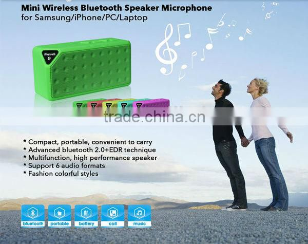 Wireless portable loudspeakers stereo mini hifi bluetooth speaker Jambox style sound box boombox blutooth speakers with fm radio