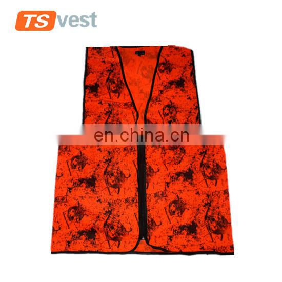 Custom bright color decorative design cotton waistcoat