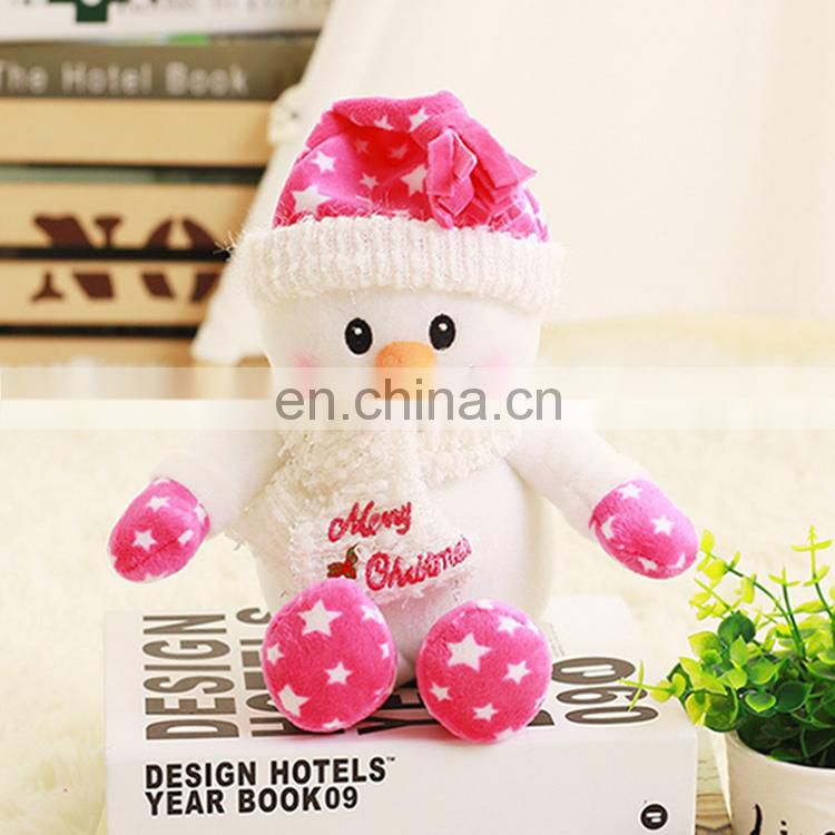 Custom Made Funny Christmas Plush Toy Snowman