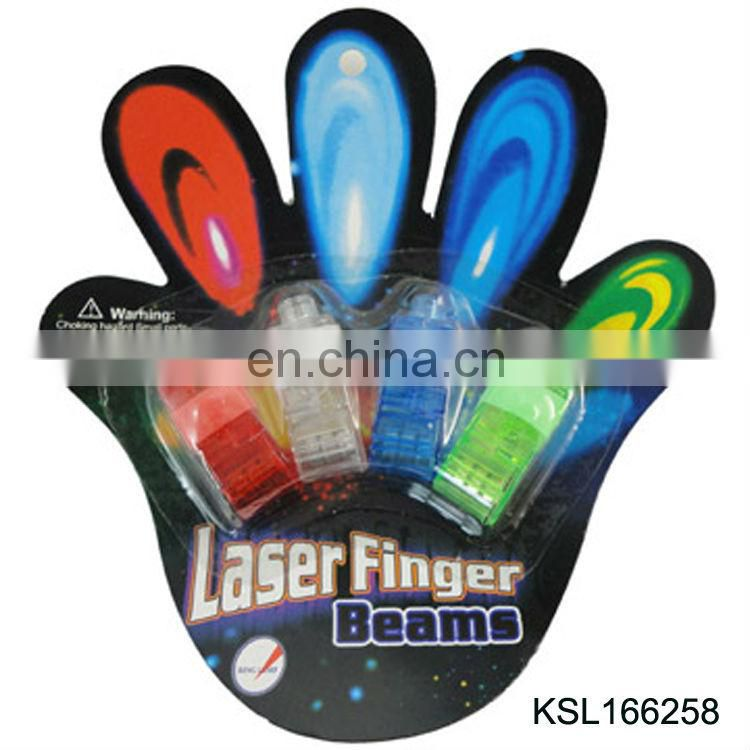 hotsell rainbow laser led finger light