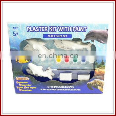 hot education toy kids plaster paint set