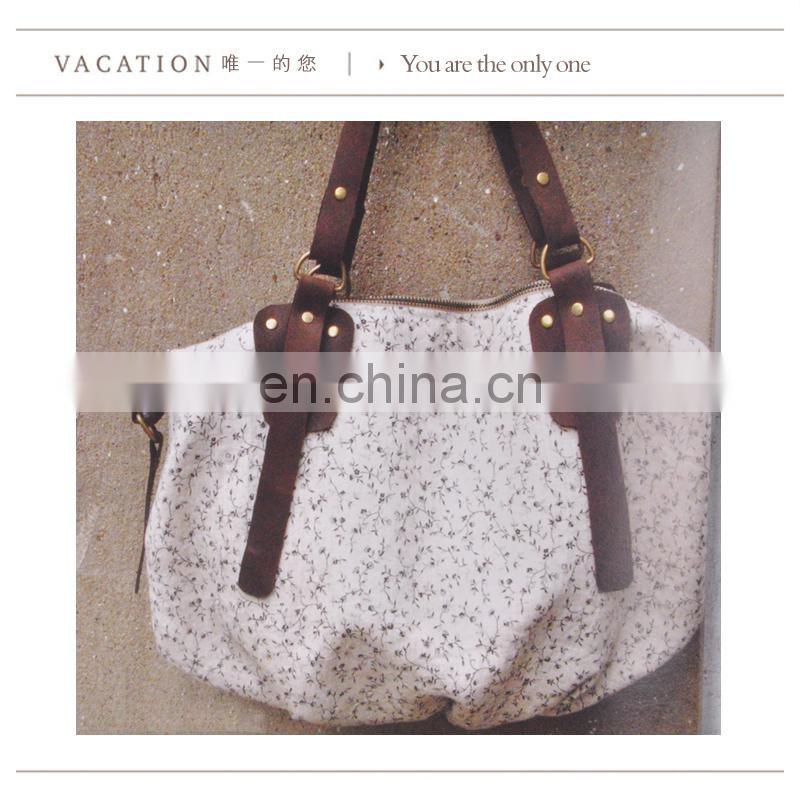 shoulder strap new product women canvas bag