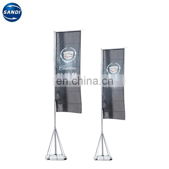 Advertising heat sublimation outdoor promotion flag