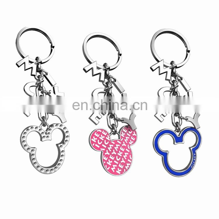 Unique logo holder key chain, mobile phone key chain,pokemon key chain