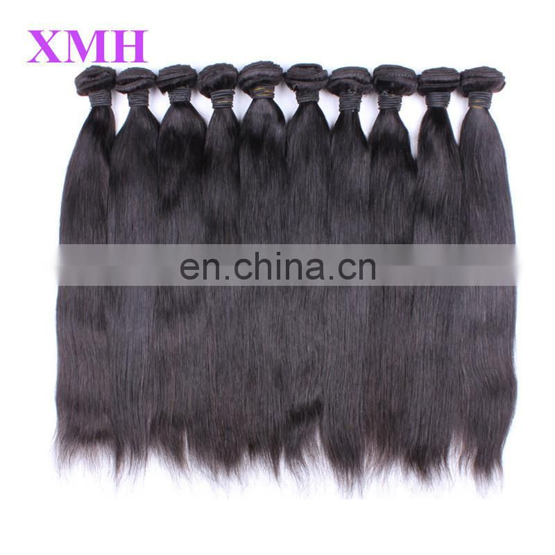 cheap no shedding tangle free cheap weaves bundles peruvian and brazilian human hair