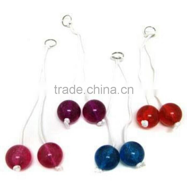 Wholesale Novelty Gift Toy Light Clacker Ball With Handle Of Clacker