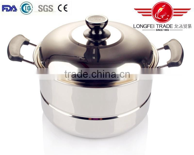 hot selling stock products stainless steel food steamer