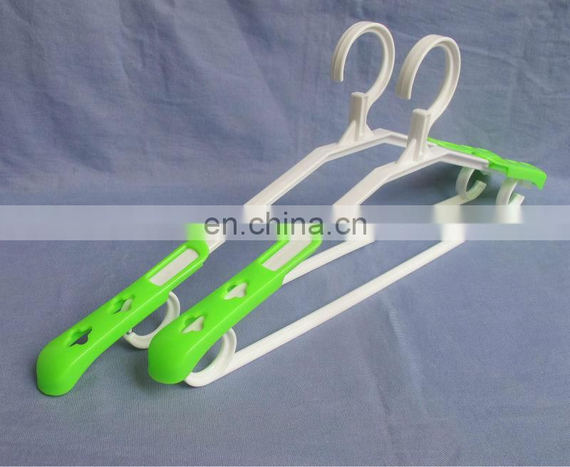 Scalable extendable recycle plastic hanger