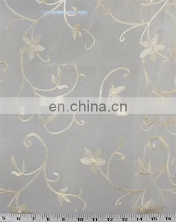 Sheer Embroidered Fabric