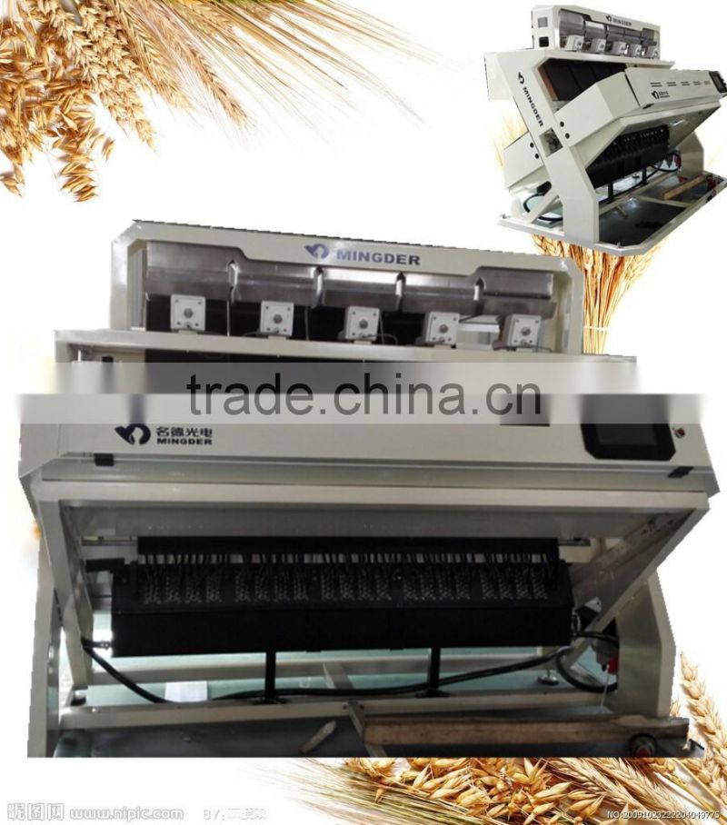 Low price, high quality rice color sorter, rice color sorting machine with one year free warranty