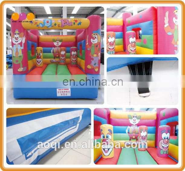 New design popular cartoon figures inflatable bouncer for kids with free EN14960 certificate