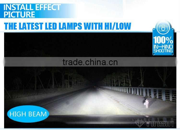 high power led car headlight for truck offroad suv atv VW toyota honda city ford focus cruze BMW H1 H4 H8 H9 H11 9005 9006