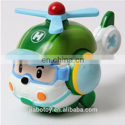Custom logo 4pcs/Set Korea robot classic plastic Transformation Toys Dolls Best Gifs For Kids