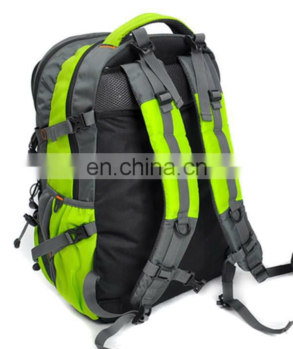 Nice leisure hiking bag with different material
