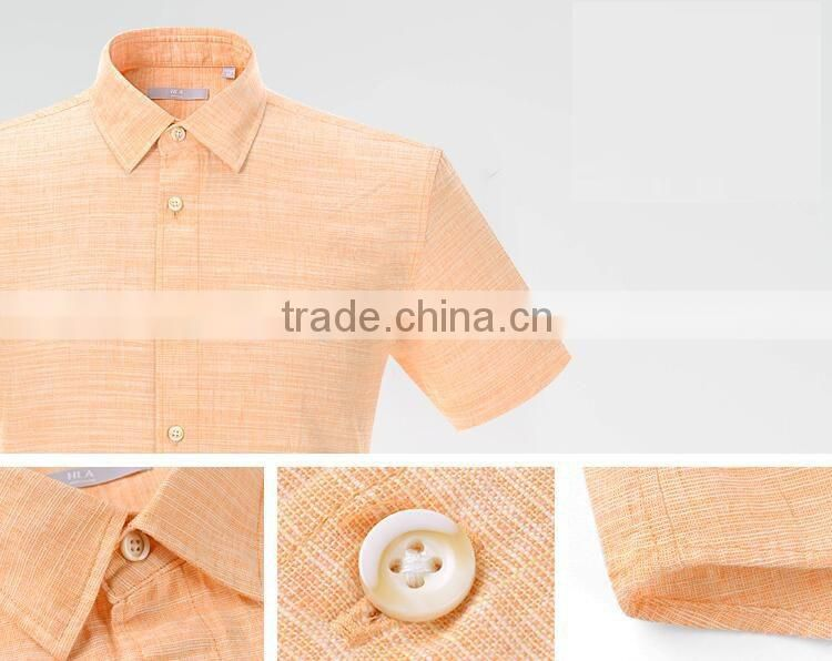 Custom made apparel wholesale 100% egyptian cotton sweat resistant business slim fit linen dress shirt design