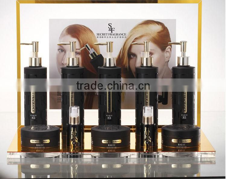 Hot sale organic OEM Argan oil good hair shampoo and conditioner