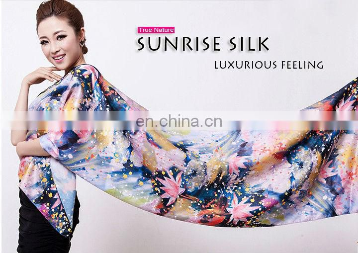 2013 bright solid color viscose fashionable custom shawl