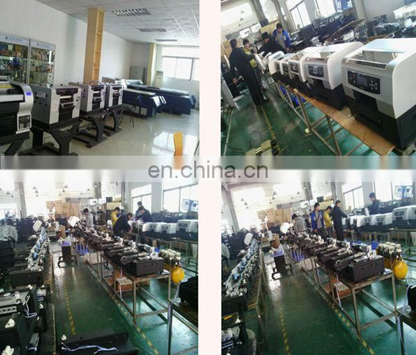 Large format digital 3D wallpaper printing machine leather printing machine printer from Shenzhen