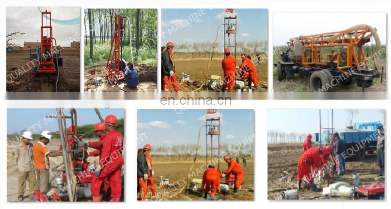 small portable mini bore well drilling machine price