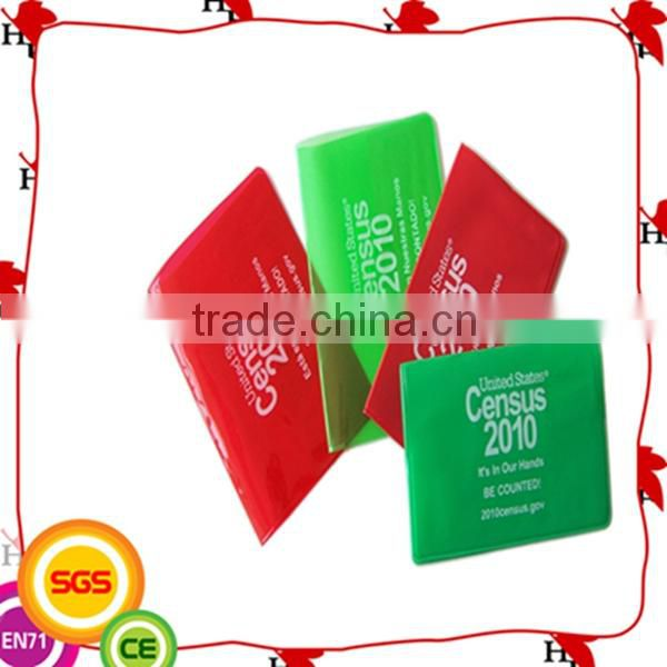 2014 High Quality ECO-Friendly Full Color Printig PVC Card Holder , UV Print Card Holder