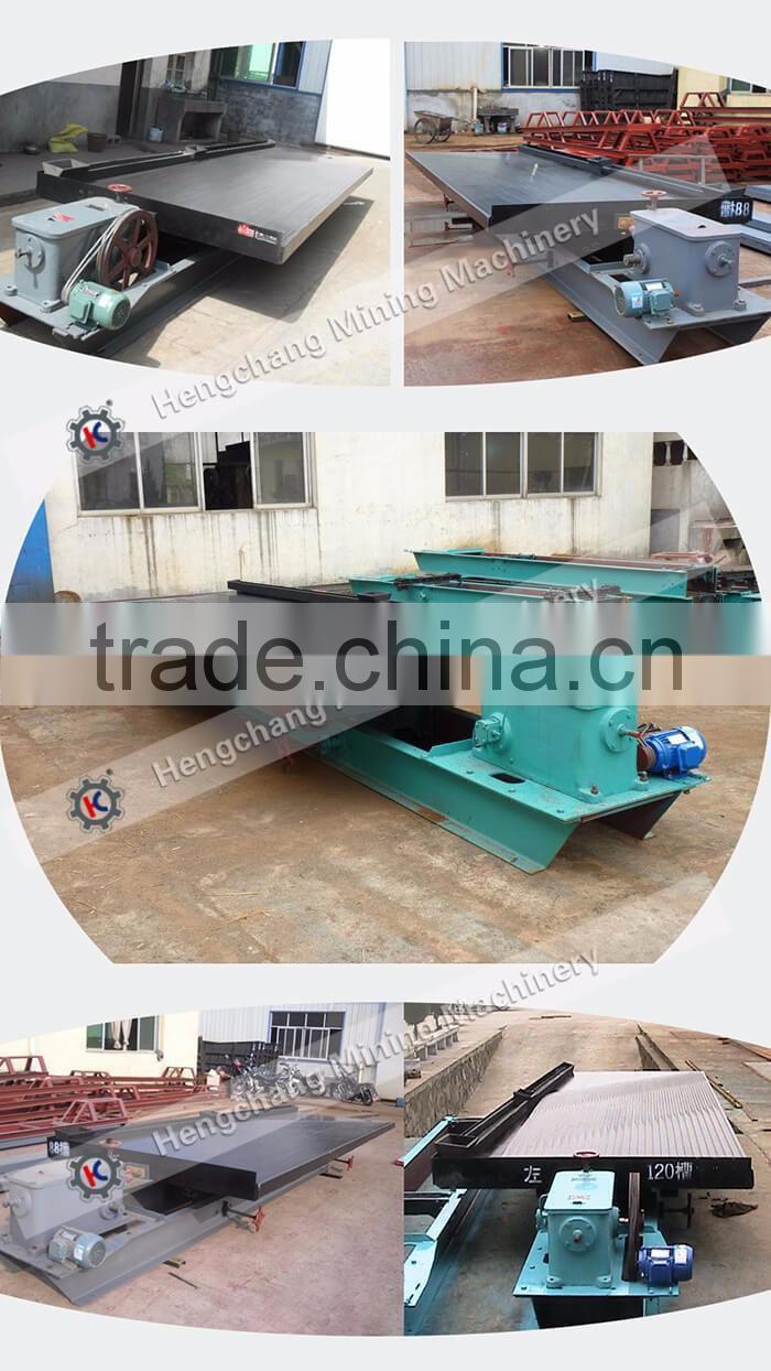 Hengchang Placer Gold Mining Flowchart Shaking Table Price Of