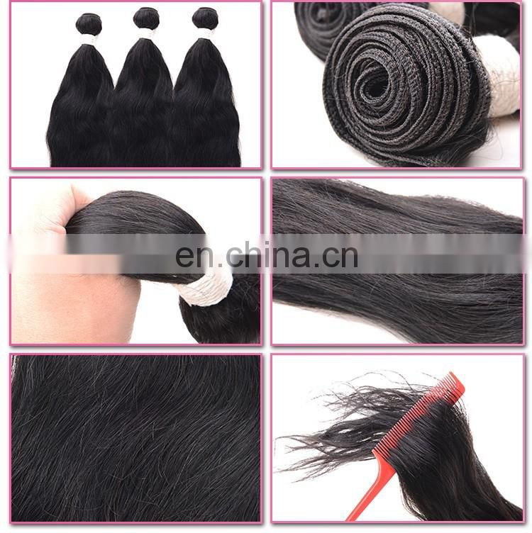 xuchang hengyuan chocolate hair unprocessed hair weft natural wave 10- 26 inch in stock