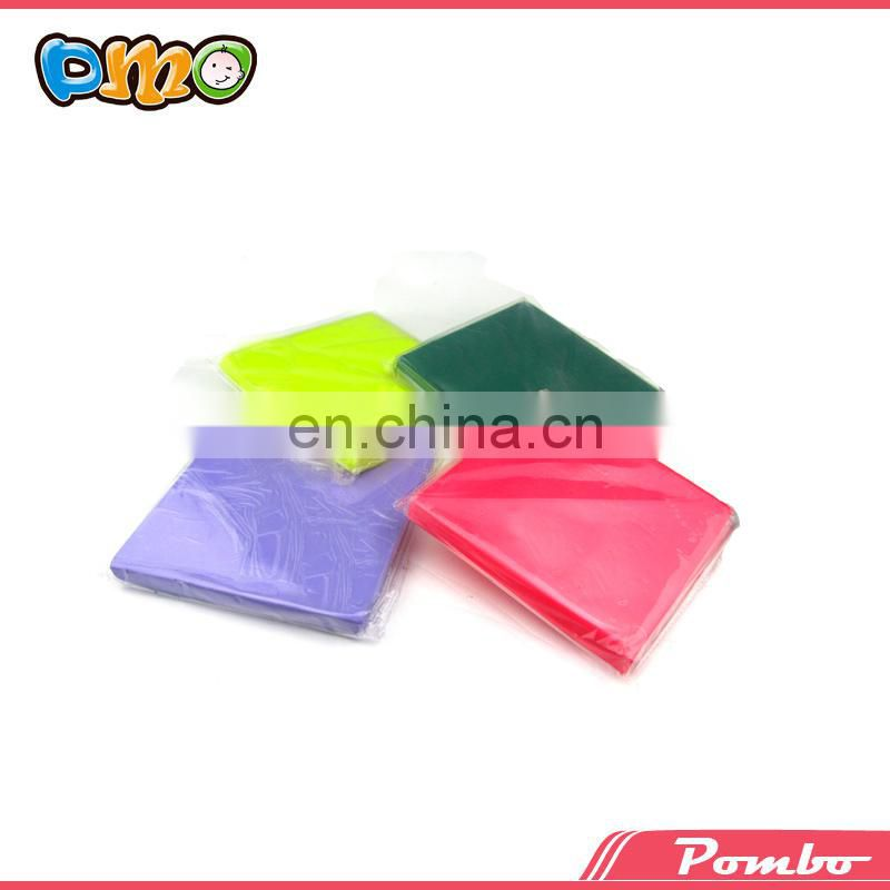 Neon color eco-friendly wholesale educational polymer clay
