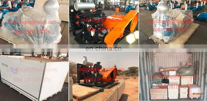 Great Quality BW450 Triplex Piston Mud Pump for 400m deep borehole drilling rig