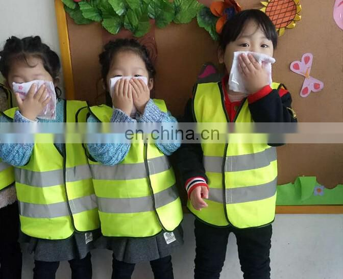 Fashion Hi Vis kid reflective safety vest