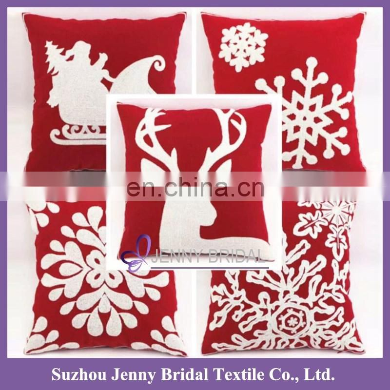 PC003 pillow cover embroidery design pillow cover decor christmas pillow