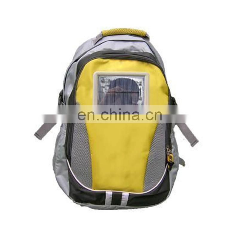 solar sport backpack in high quality with promotional price