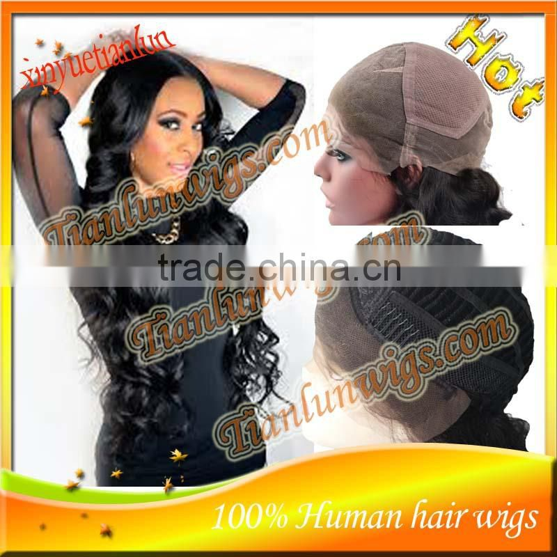 Fashional nice Body Wave Brazilian human hair Lace Front wig&Full Lace wig,bleached knots with baby hair around the perimeter