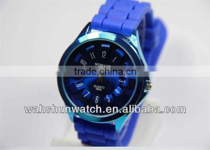 2013 silicone alloy 5 atm waterproof unisex watch brands