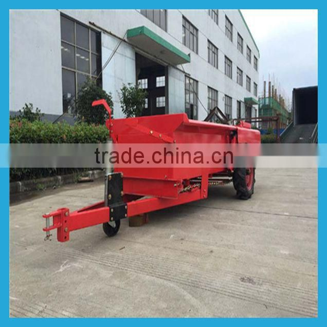 2015 new Trailed fertilizer spreader with farm tractor/granular fertilizer spreading machine/manure spreader