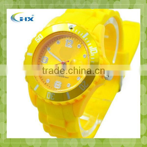 New Products Cheap Waterproof Silicone Watch For 2014