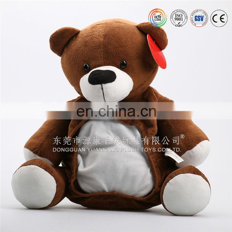 wholesale funny teddy bear bag,Soft teddy bear bag