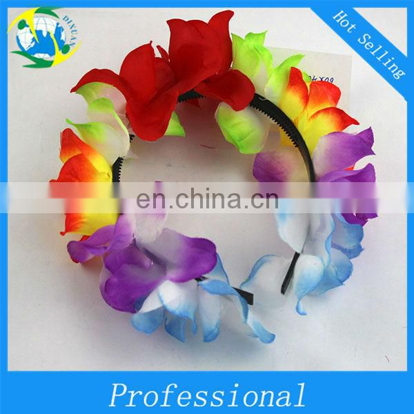 Plastic Hawaii Flower Lei