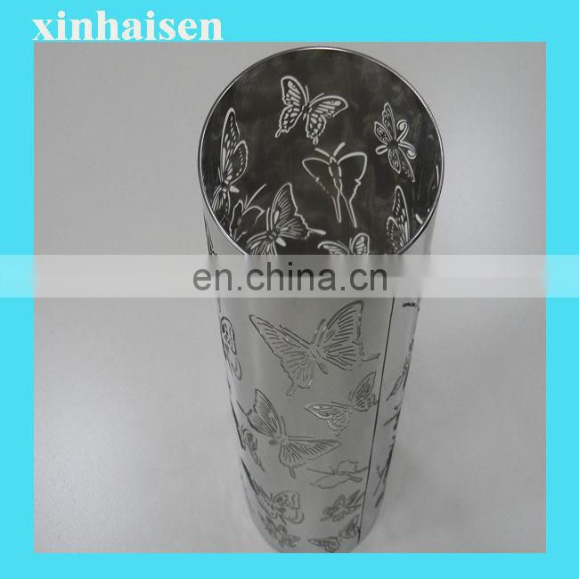 Chemical etching custom printed mini lampshade trim