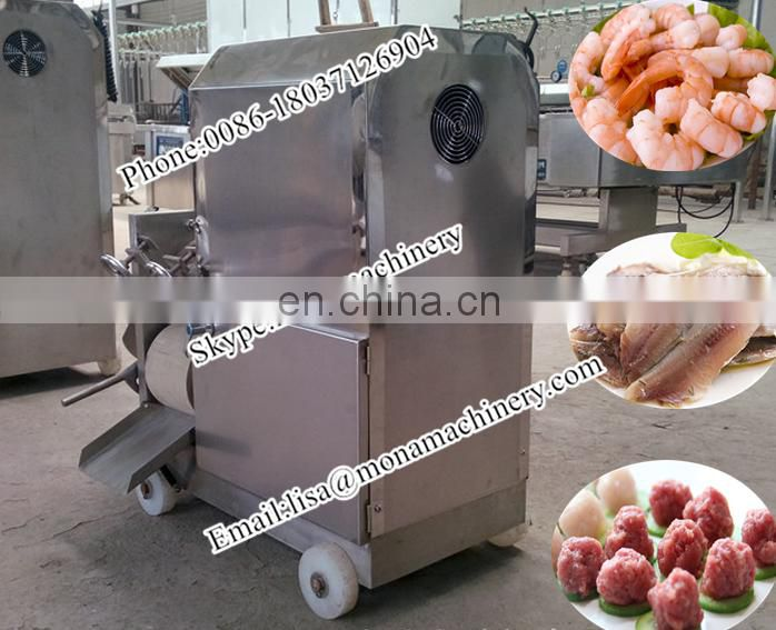 competitive price fish meat and bone separator/fish flesh separating machine