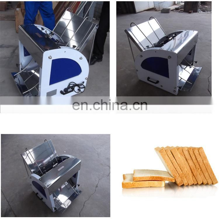 New used manual slicer/ bakery loaf bread slicer Image