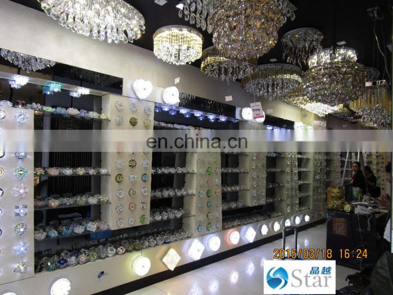 China manufacturer modern pendant ceiling crystal lamp