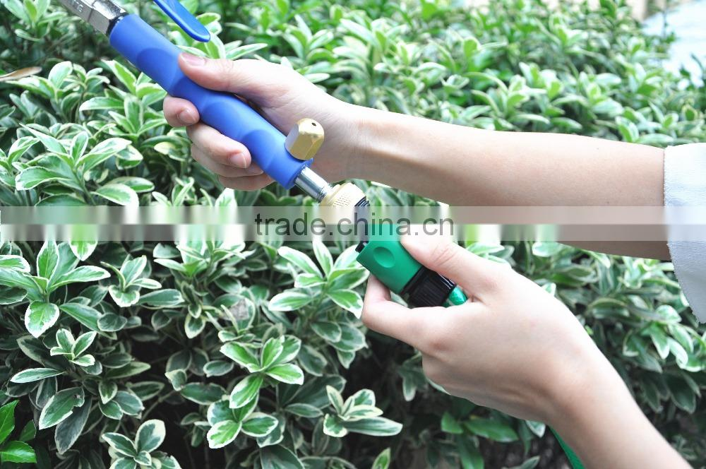 (3135) Aluminum Alloy High Pressure Power Garden Portable Water Gun Washer Wand