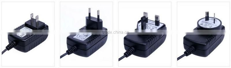 Huizhou New AC 100-240V to DC 12V 1A Switching Power Supply Converter Adapter GS Plug for CCTV camera