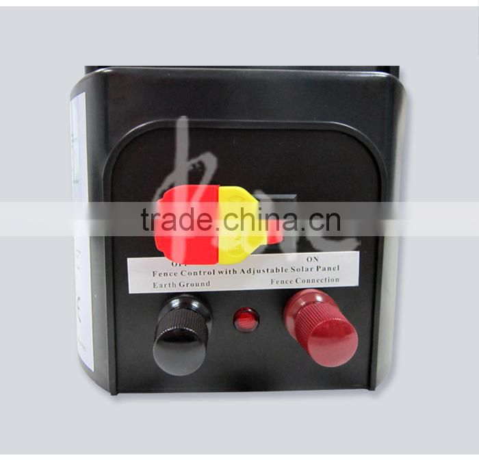 Electric Fence Control Panel : Electric fencing energizer solar power controller