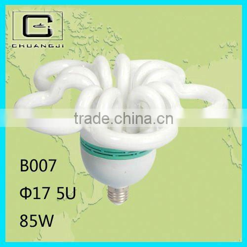 5U save your freight durable lowest price good quality super bright 85w flower energy saving lamp