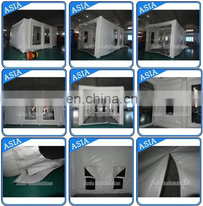 Custom Portable Inflatable Paint Booth In Garage, Buy Inflatable Spray Booth, Inflatable Work Stations