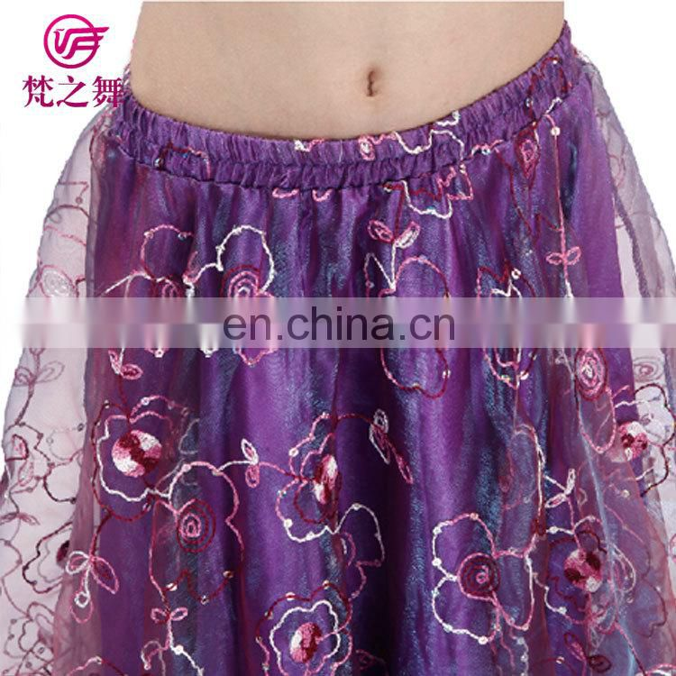 ET-133 Newest model lovely stage 2pcs children belly dance costumes suit