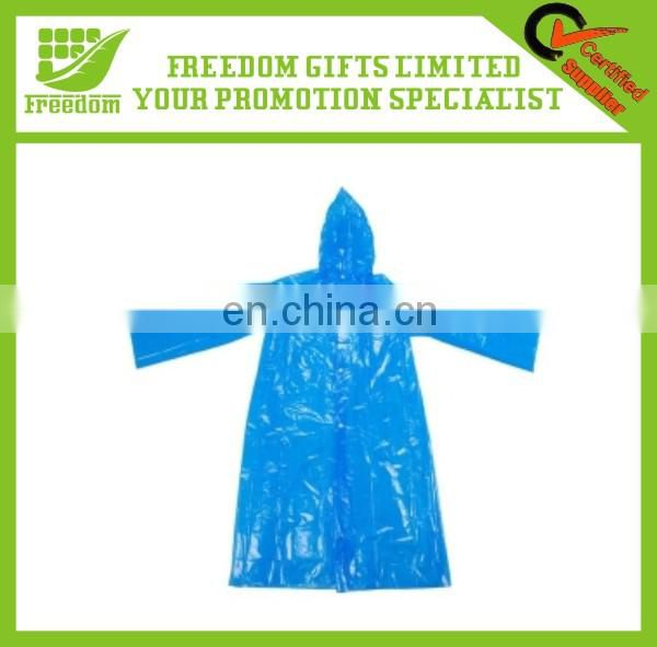 Eco Friendly PE Disposable Raincoat Ball With Keyring